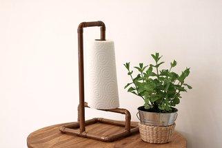 Tuto: un porte essuie-tout avec des tubes en cuivre